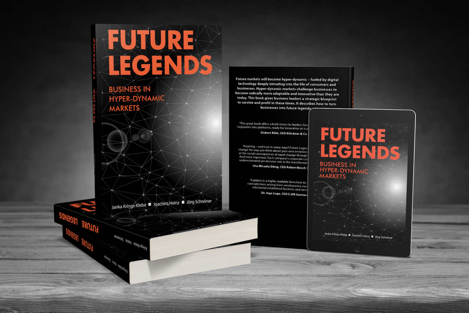 Book Future Legends - co-shift GmbH